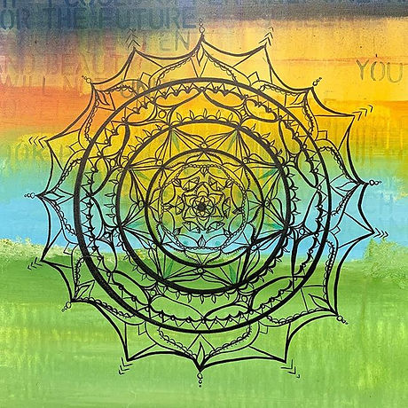 Mandalas are used to focus the mind in m