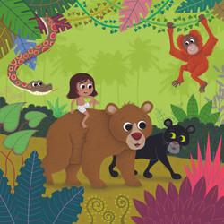 Jungle Book no text