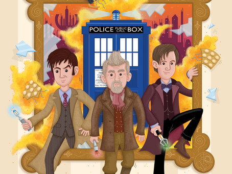 Dr Who Artwork Selected
