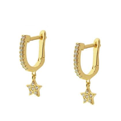 Star Pendant Earring