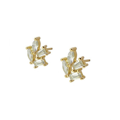 Graine circonias earrings