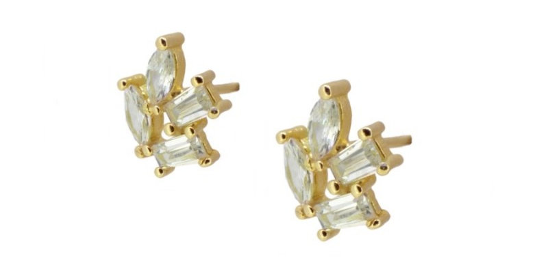 Graine circonias earrings