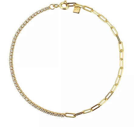 Riviere & Chain Necklace