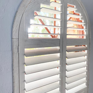 Shaped eco shutters