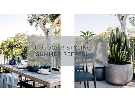 Spring into summer with an outdoor style refresh