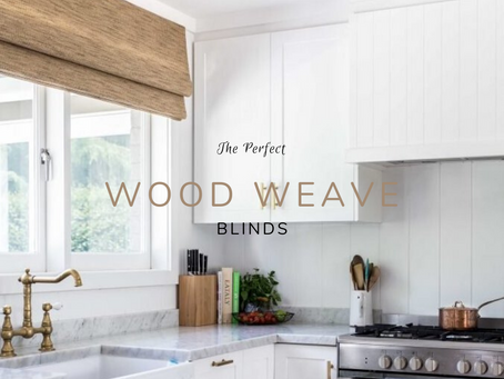 The Perfect Wood Weave Blinds