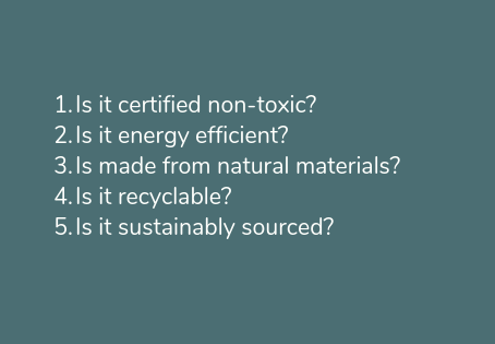 What makes a product eco-friendly?