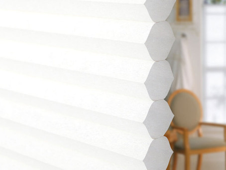 Reduce your heating costs by up to 49% - with Energy Saving Honeycomb Blinds