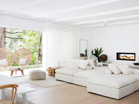 How to create Natural light and softness in your home.