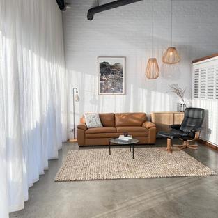 Linen Sheer Curtain