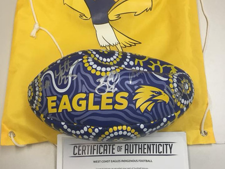 Eagles Footy Auction