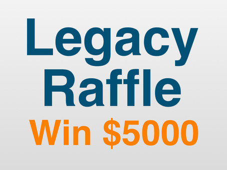 Win $5000 in the Official Bloody Slow Cup Raffle.