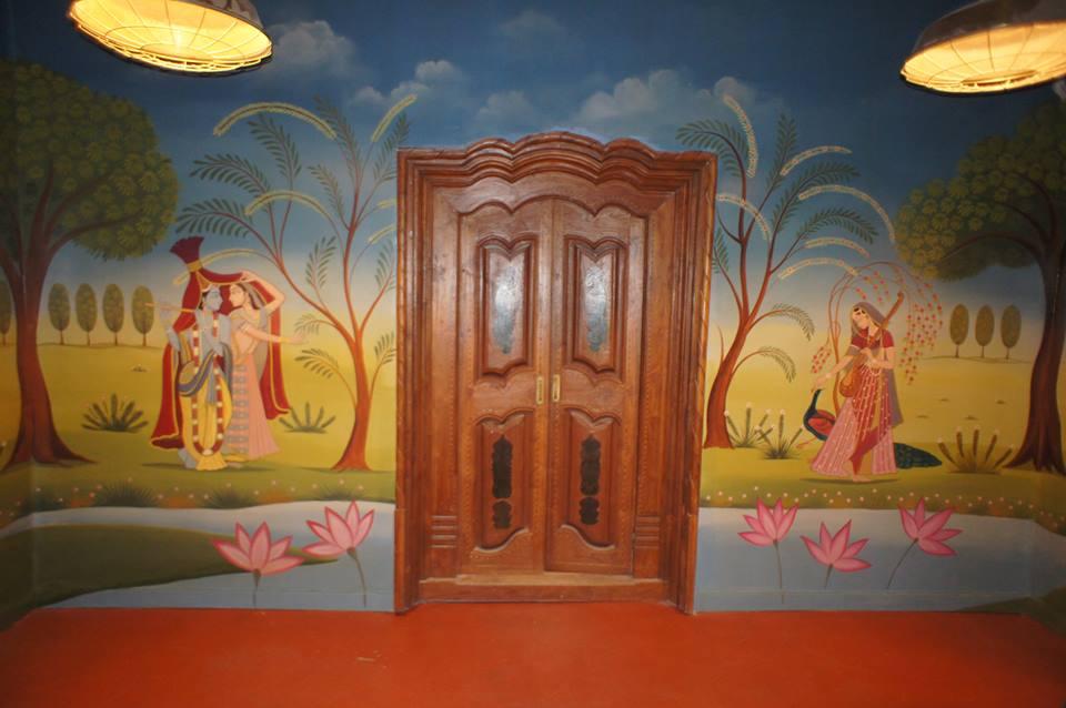 Entrance Artwork