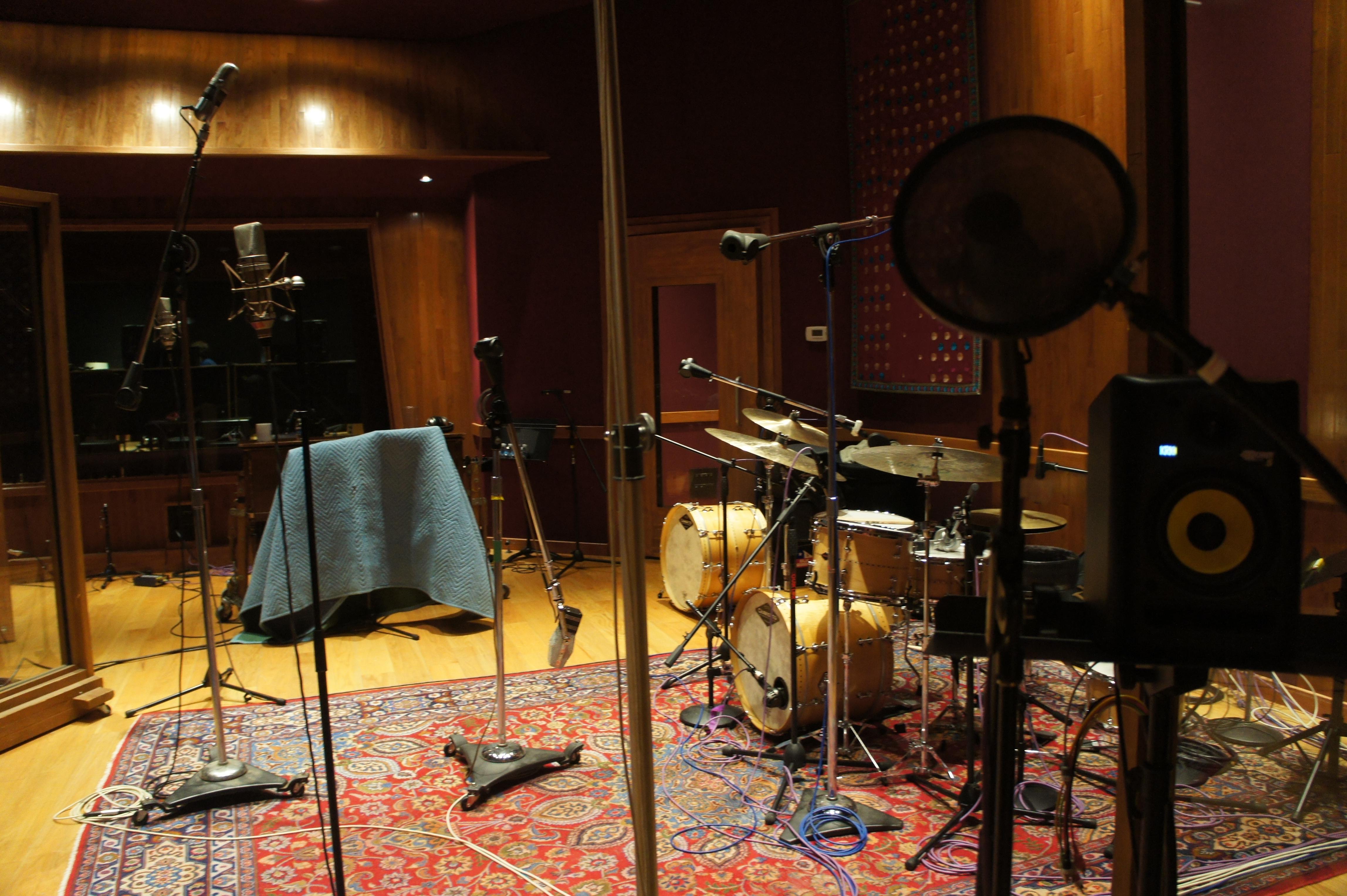 Setup Studio A Nashville