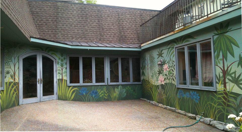 Studios A Courtyard