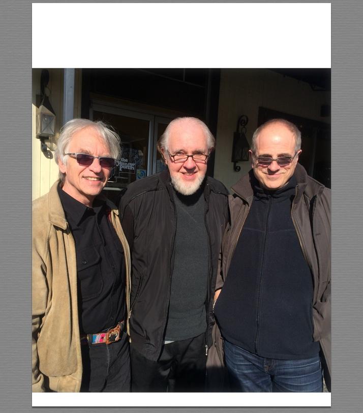 GB, Norbet Putnum and Bob Ezrin