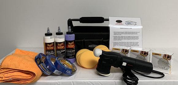 Headlight Restoration Kit w/ Polisher