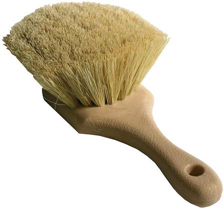 Tampico Bristle Flag Brush Yellow
