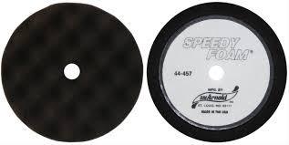 """Black 8"""" Recess Waffle Pad"""