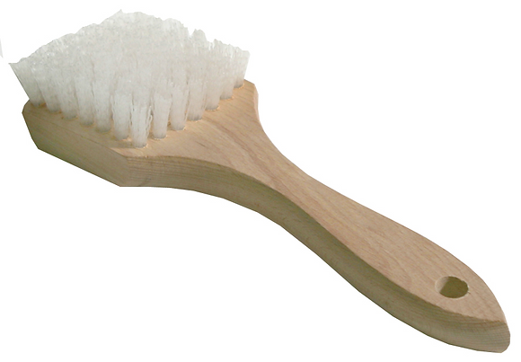 White/Sidewall Tire Brush
