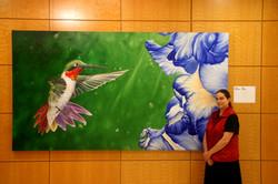 sara and her bird