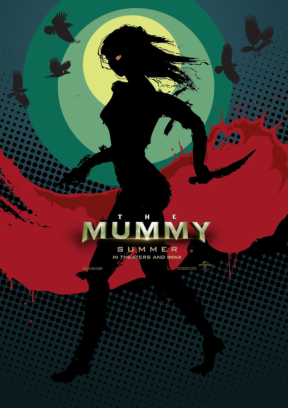 The Mummy alternative Film Poster