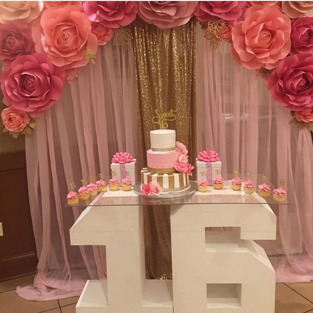 Sweet Sixteen Numbers Table