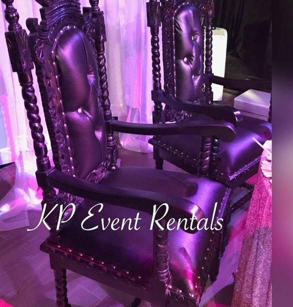 Black Crown Chairs