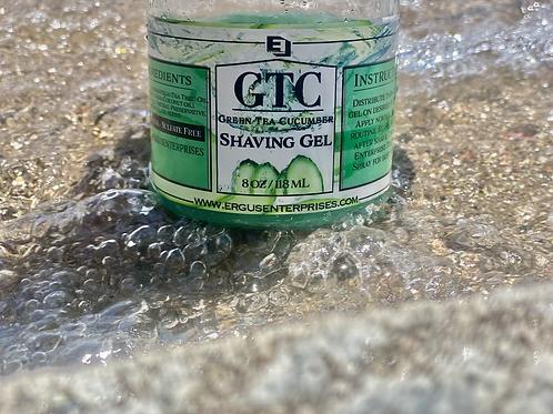 GTC (Green Tea Cucumber) Shaving Gel [8oz]