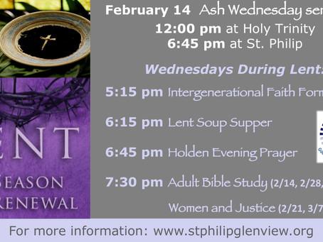 Lent @ St Philip