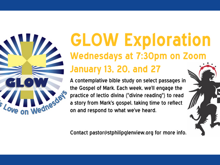 GLOW Exploration in January