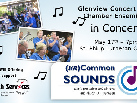 Concert on May 17th @  7pm