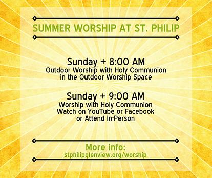 2021.06 Summer Liturgy at St. Philip - v