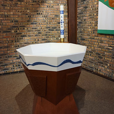 St. Philip baptismal font