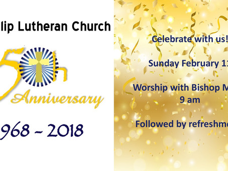 50th Anniversary Celebration - February 11