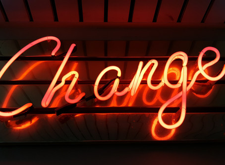 A Sermon about Change and Being Changed