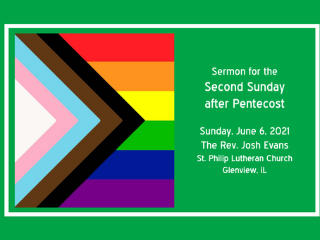 Freed to Be | A Sermon for Pride Month
