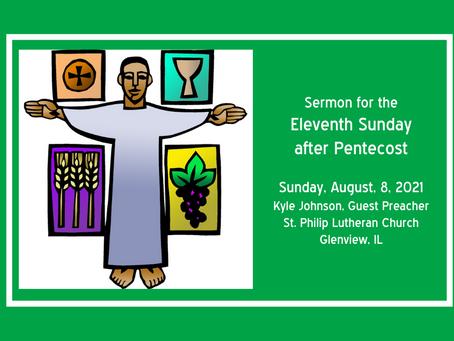 Eleventh Sunday after Pentecost