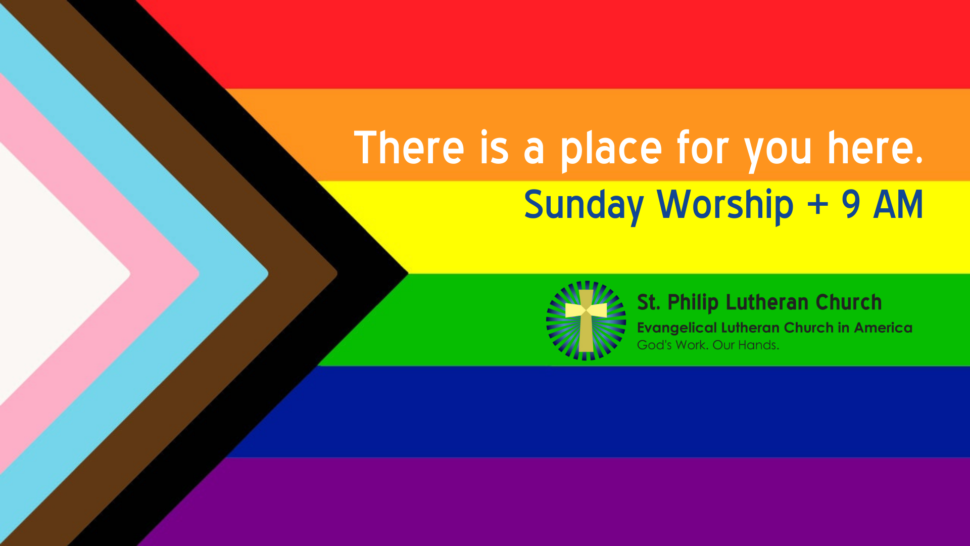 There is a place for you here - St. Philip Lutheran Church