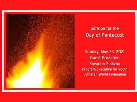 Sermon: Day of Pentecost