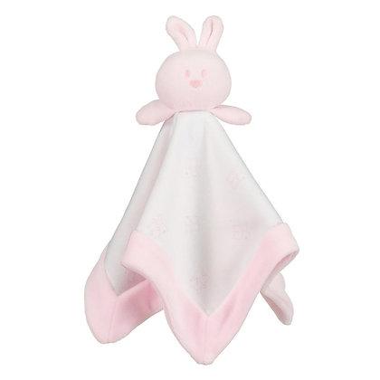 Rose Bunny Baby Girls Comforter