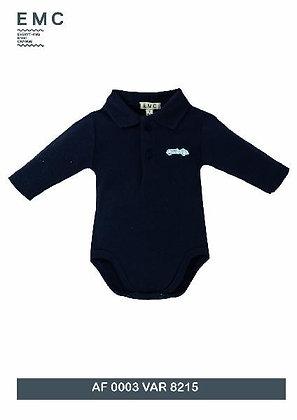 EMC Baby Boy Grey Body Polo Shirt