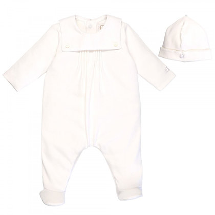 Unisex Baby White Babygrow