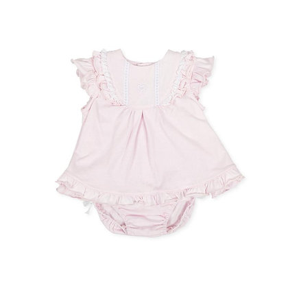 Baby Girls Dress Pink Briefs Frills