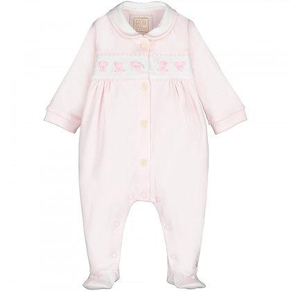 EMILE ET ROSE Pink Baby grow