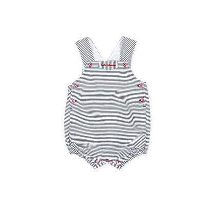 Baby Boys Striped Dungaree