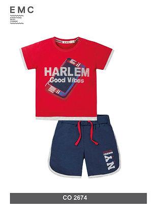 Boys Summer Set T-Shirt Shorts Set