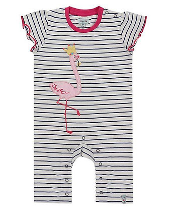 Lilly and Sid organic romper playsuit girl