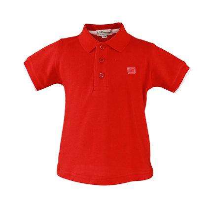 Red Polo shirt Boys