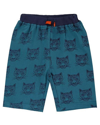 Cheetah Sweat Shorts Boys Organic